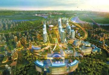 大自然公园,大千欢乐世界主题乐园等重点项目建设,利用乐贤半岛18公里